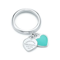 "Tiffany""s Double Heart Ring"