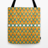The Pattern Tote Bag by Angga Mahardika