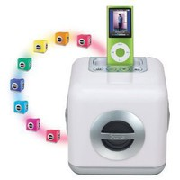 iHome iH15 LED Color-Changing Speaker System with Built-In Subwoofer for iPod