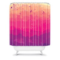 DENY Designs Home Accessories | Rebecca Allen A Study In Purple Shower Curtain