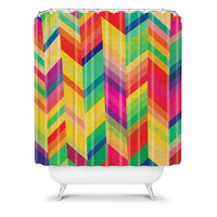 DENY Designs Home Accessories | Rebecca Allen Color Quest Shower Curtain