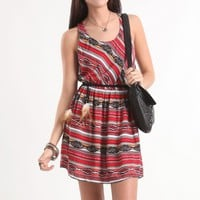 Kirra All Over Tribal Print Dress - PacSun.com