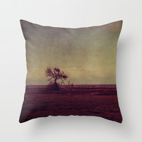 solitary Throw Pillow by ingz