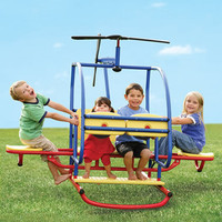 The Backyard Helitotter - Hammacher Schlemmer
