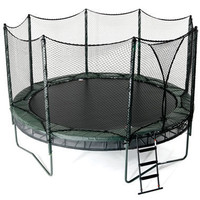 The Double Bounce Trampoline - Hammacher Schlemmer