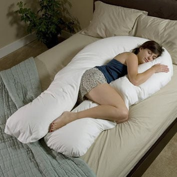 The Total Body Support Pillow - Hammacher Schlemmer