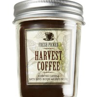 Harvest Coffee 6 oz. Mason Jar Candle   - Slatkin & Co. - Bath & Body Works