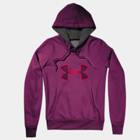 Women's Armour Fleece Storm Embroidery Big Logo Hoodie