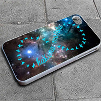 Custom iPhone 4 case, iPhone 5 case, Samsung galaxy case, Samsung Galaxy s3 , Samsung Galaxy s4 case,Cosmic Outer Space Hakuna Matata