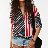 America Shirt in What&#x27;s New at Nasty Gal