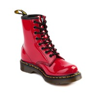 Womens Dr. Martens 8-Eye Boot, Red, at Journeys Shoes