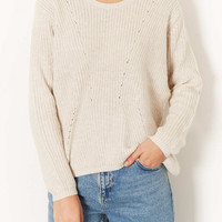 Knitted Clean Rib Jumper - Knitwear - Clothing - Topshop