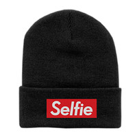 Petals and Peacocks Sellfie Beanie