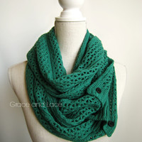 The Nellie Knit Scarves - Grace and Lace