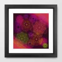 Hot Tech Space Framed Art Print by Nina May