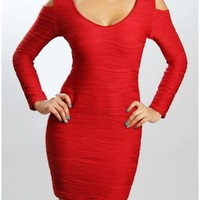 The Red Fall Dress