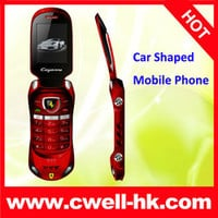 Ferrari W8+ Car Shaped Flip Mobile Phone - Buy Racing Car Mobile Phone,Racing Car,Colorful Product on Alibaba.com