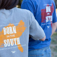 "Heritage Line ""Born in the South"" Tees 