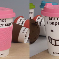 "INFMETRY:: ""I am Not a Paper Cup"" Ceramic Mug - Gifts"