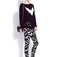 Shredded Bat Sweater | FOREVER 21 - 2000075767
