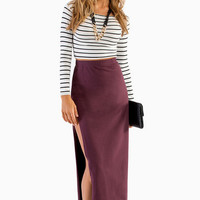 Kneeling Kourtney Maxi Skirt $32