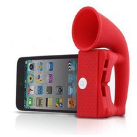 Amazon.com: Red ihorn for iPhone 3, 3G, 4, 4S: Cell Phones &amp; Accessories