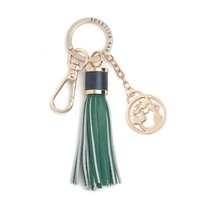 Boutique Mermaid Tassel Keychain - Emerald