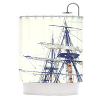"Bree Madden ""Pirate Ship"" Shower Curtain 