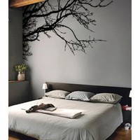 Amazon.com: Vinyl Wall Decal Sticker Tree Top Branches (M) 100&quot; W X 44&quot; H: Everything Else