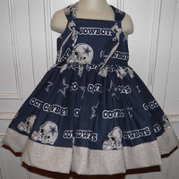 NFL Dallas Cowboys Boutique Dress Size 2T 3T 4T NEW