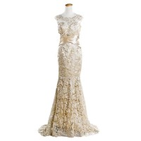 Cloudshop the 2013 International Lively Sexy Applique Wedding Dress C255