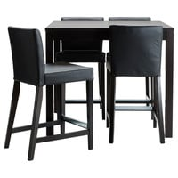 BJURSTA/HENRIKSDAL Bar table and 4 bar stools - IKEA