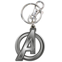 Stupid.com: Avengers Logo Key Ring