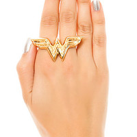 nOir x DC Comics Ring WW in Gold