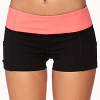 Side Pocket Skinny Workout Shorts