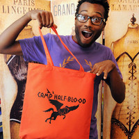 Camp Half Blood tote bag.  Perfect for books or your by evietees