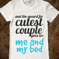 Cutest Couple Award-Unisex White T-Shirt
