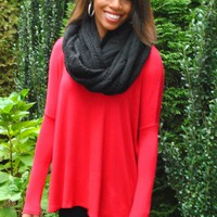 Tique Tunic in Red - Tops