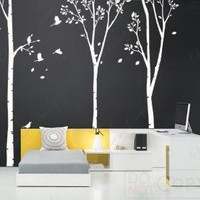 Removable Vinyl Wall decals tickers muralsThree by ebaygiftshop