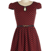 Cute Classmate Dress in Red | Mod Retro Vintage Dresses | ModCloth.com