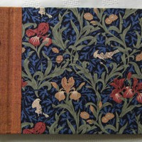"Photo Album With Post Binding - William Morris ""Iris"" - Little 8x6"" Album - Ready To 