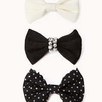 Luxe Hair Bow Set | FOREVER 21 - 1000074604