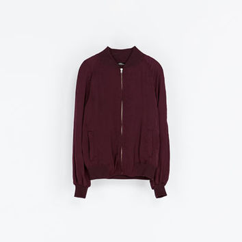 BOMBER JACKET - Blazers - Woman | ZARA United Kingdom
