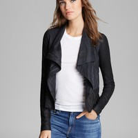 Vince Jacket - Color Block Leather | Bloomingdale's