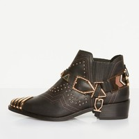 Ivy Kirzhner Santa Fe Boots In Black Forest
