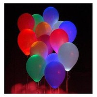 Glow LED Balloonz (Flashing 5 Pack)