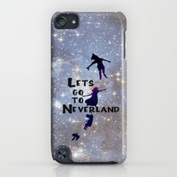 Lets Go To Neverland iPhone & iPod Case by Amber Rose