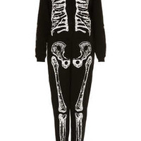 Skeleton Onesuit