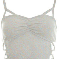 Sparkle Bra Top - Tops - Apparel - Miss Selfridge US