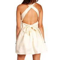 Marjorie-Ivory Homecoming Dress